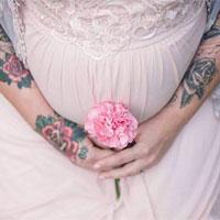 تاتو-در-بارداری
