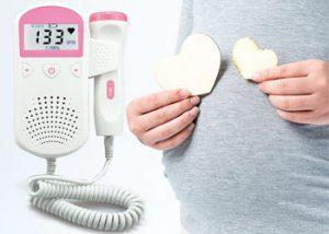 شنیدن صدای قلب جنین در خانه
