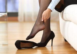 پوشیدن کفش پاشنه بلند در بارداری