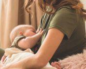 درد و سوزش سینه هنگام شیردهی
